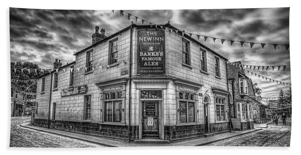 Ales Hand Towel featuring the photograph Victorian Pub by Adrian Evans