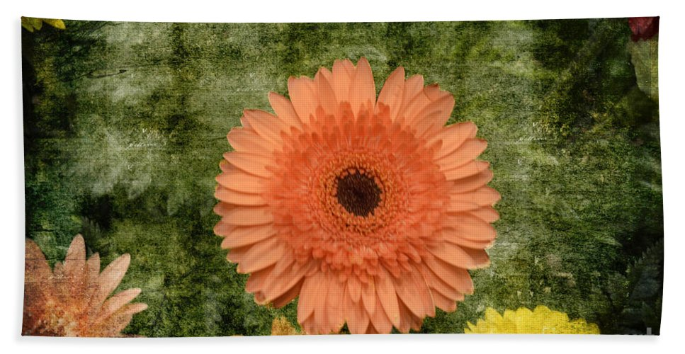 Vintage Blooms Hand Towel featuring the photograph Vintage Blooms by Luther Fine Art