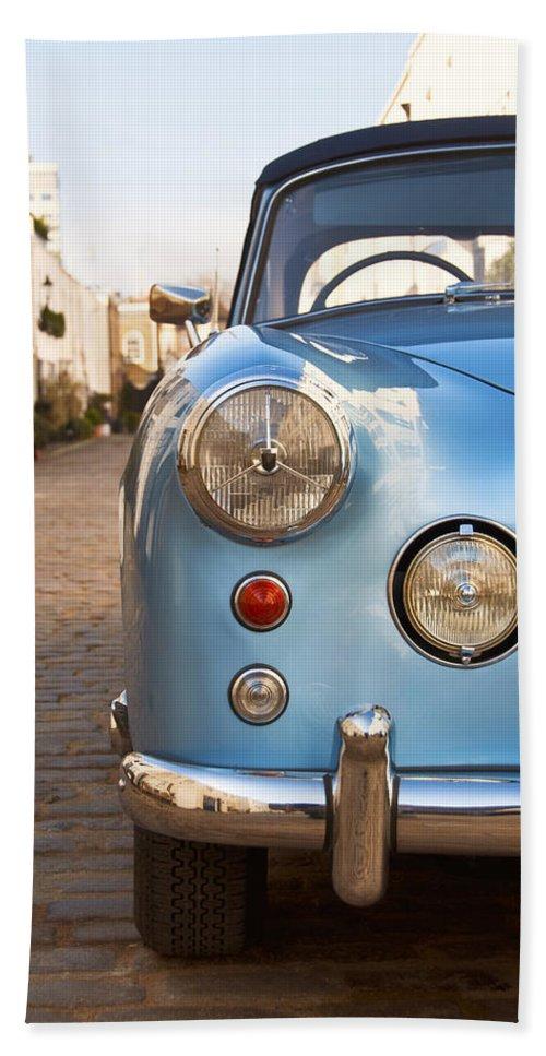 Vintage Bath Sheet featuring the photograph Vintage Car by Dutourdumonde Photography