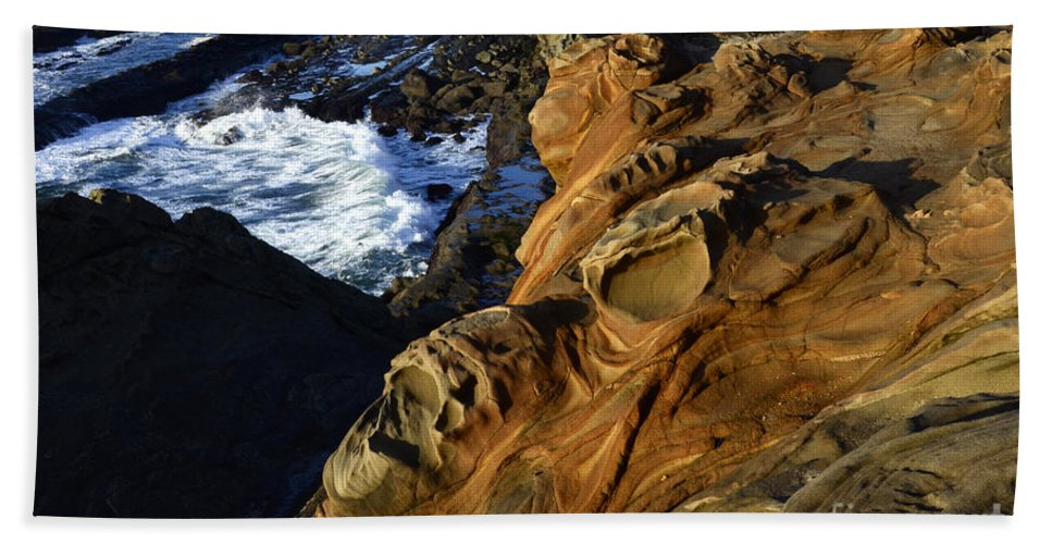 Surreal Hand Towel featuring the photograph Visions Of Nature 5 by Bob Christopher