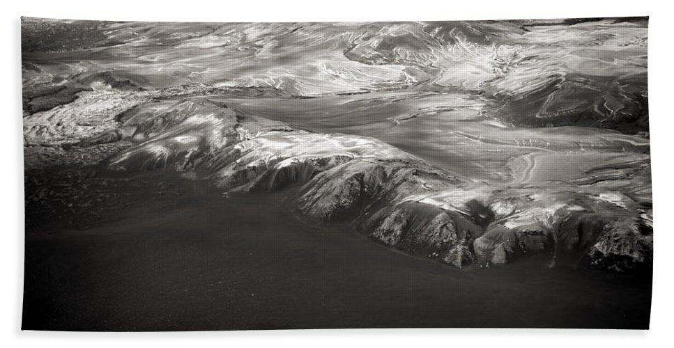 Iceland Bath Sheet featuring the photograph Volcano Ash Iceland by For Ninety One Days