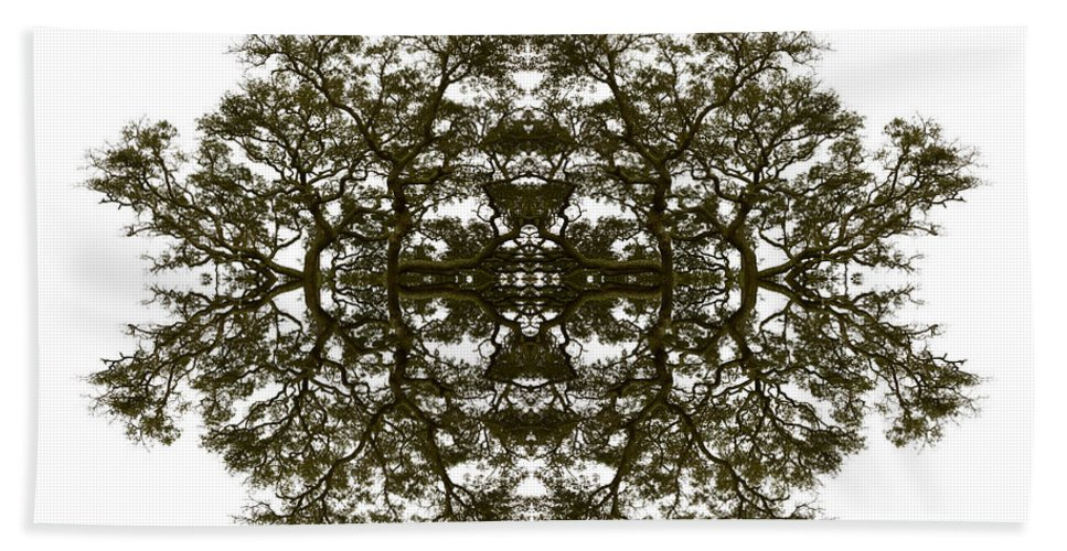 Landscape Hand Towel featuring the photograph Voodoo Mask by Debra and Dave Vanderlaan