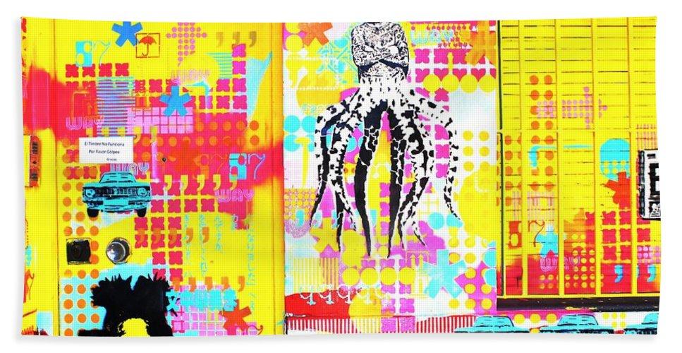 Mark J Dunn Hand Towel featuring the photograph Under Pressure by Mark J Dunn