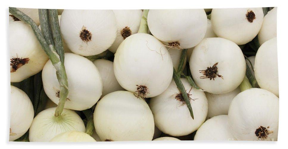 Walla Walla Bath Sheet featuring the photograph Walla Walla Sweet Onions by Lee Serenethos