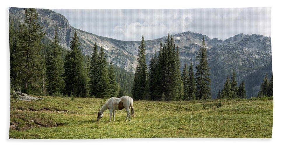 Wallowa Hand Towel featuring the photograph Wallowas - No. 2 by Belinda Greb