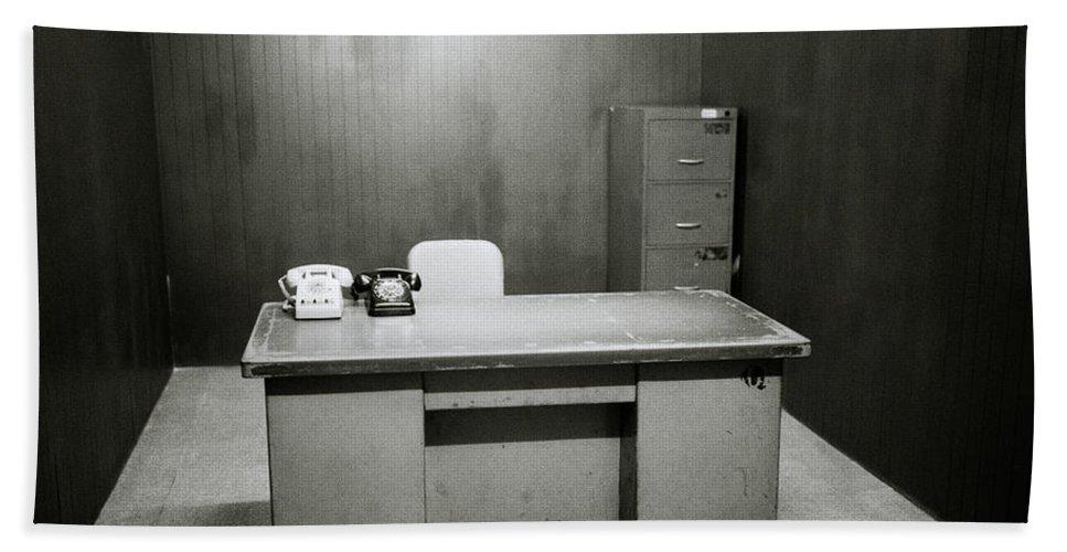 Asia Bath Sheet featuring the photograph War Room In Saigon by Shaun Higson