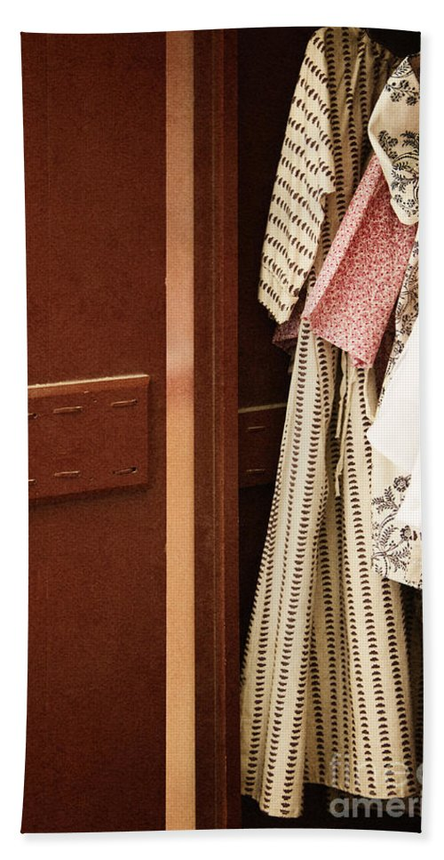 Dress Hand Towel featuring the photograph Wardrobe by Margie Hurwich