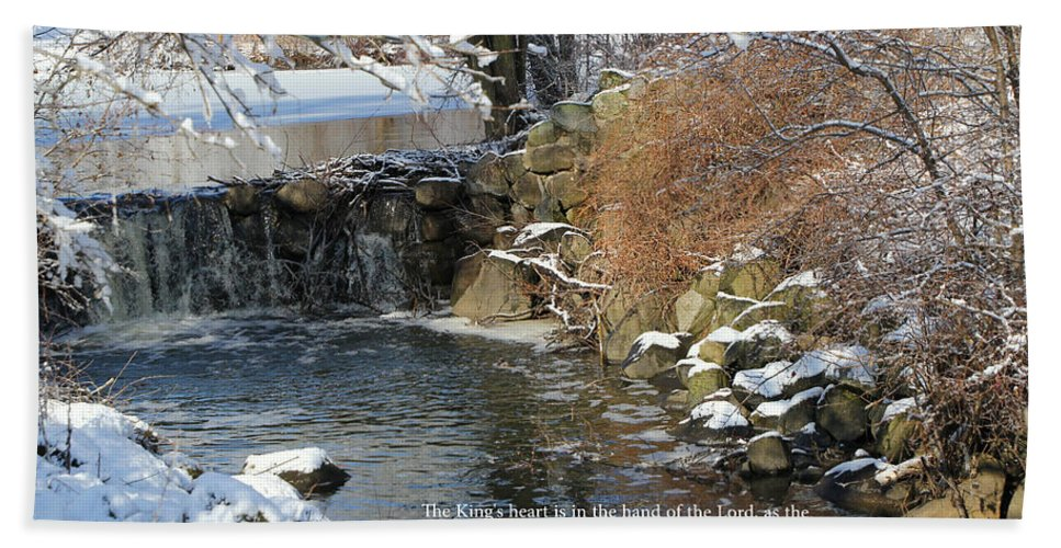 Scripture Hand Towel featuring the photograph Water 1 by Debbie Nobile