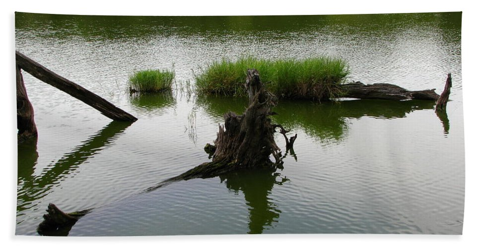 Art For The Wall...patzer Photography Hand Towel featuring the photograph Water Art by Greg Patzer