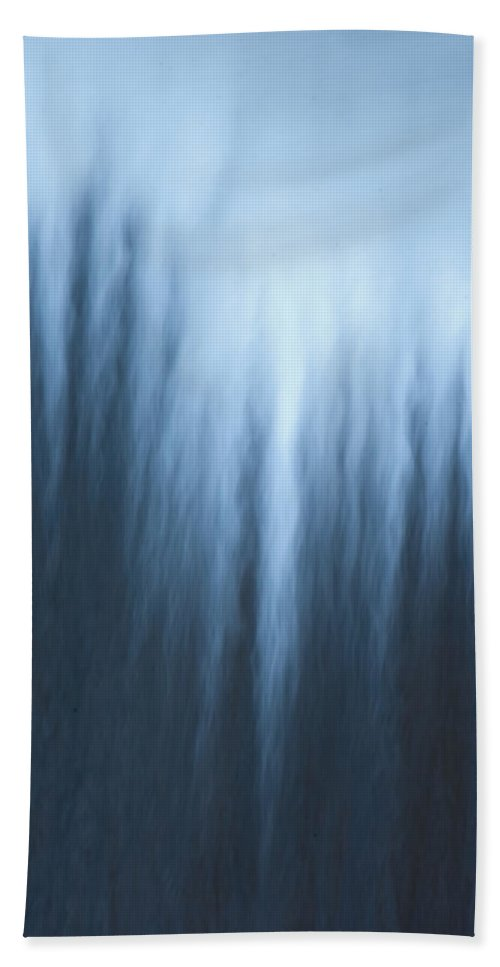 Photography Hand Towel featuring the photograph Water Fall by Steven Natanson