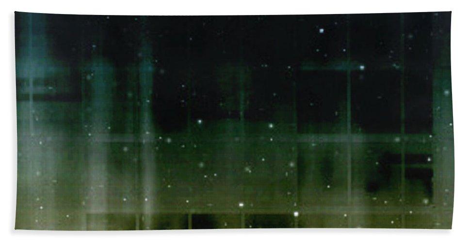 Water Bath Sheet featuring the digital art Waterfall by Carlene Smith