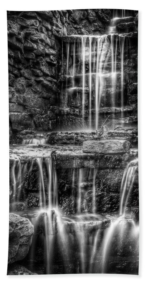 Waterfall Bath Sheet featuring the photograph Waterfall by Scott Norris