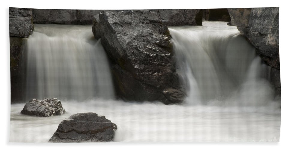 Waterfalls Bath Sheet featuring the photograph Waterfalls On Nigel Creek by Vivian Christopher