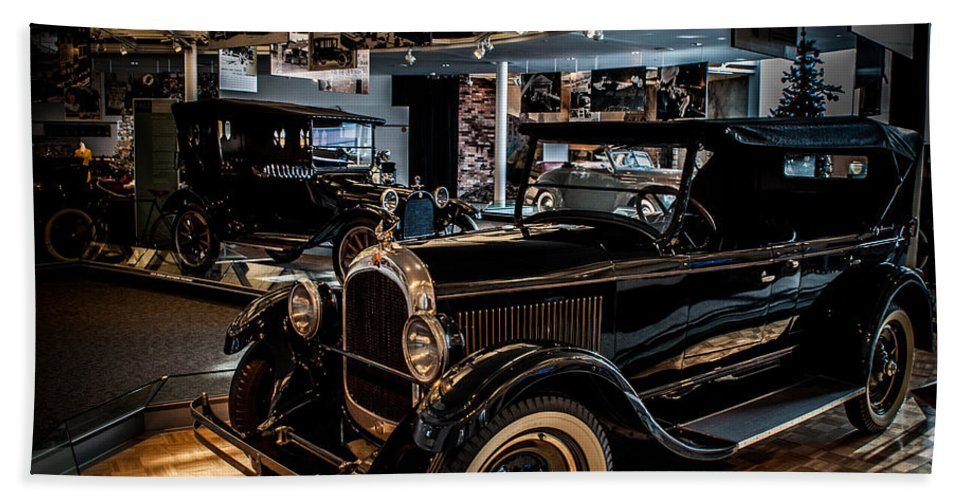 Auto Hand Towel featuring the photograph Watler P Chrysler Museum 2 by Ronald Grogan