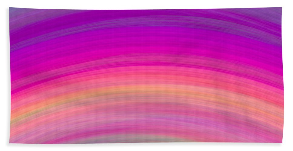 Wave Bath Sheet featuring the digital art Wave-01 by RochVanh