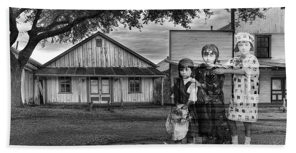 Ghost Town Bath Sheet featuring the photograph We Belong To This Place by Dominic Piperata