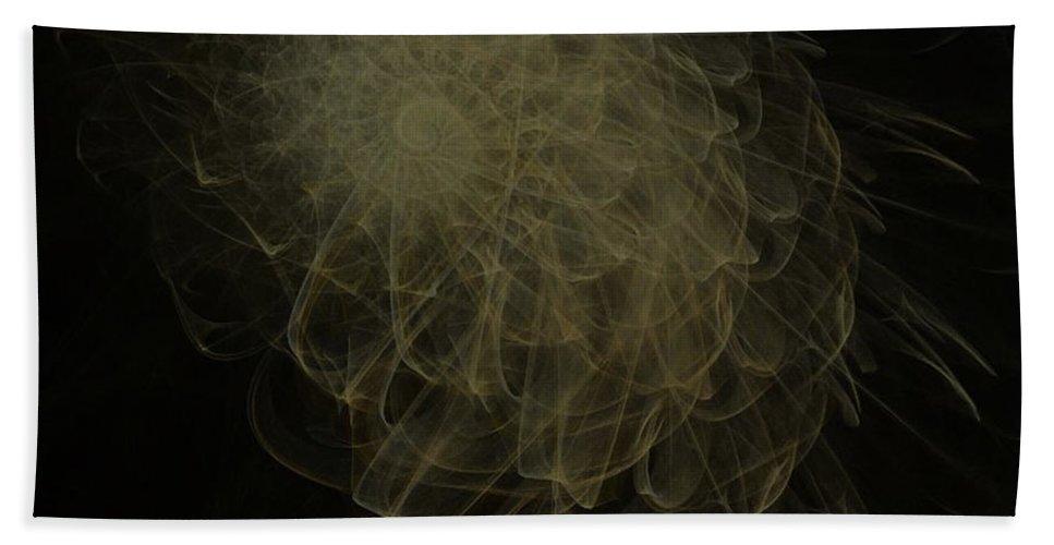 2-dimensional Hand Towel featuring the digital art Weeds N Thorns by Dana Haynes