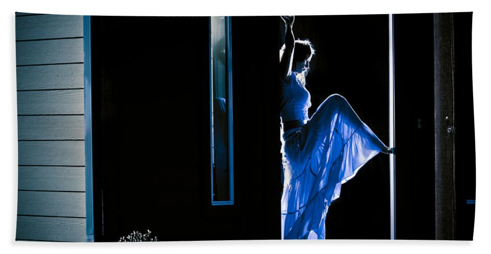 Dance Hand Towel featuring the photograph Welcome Home by Scott Sawyer