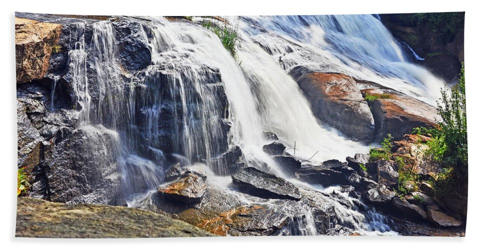 Nature Hand Towel featuring the photograph West End Beauty by Elvis Vaughn