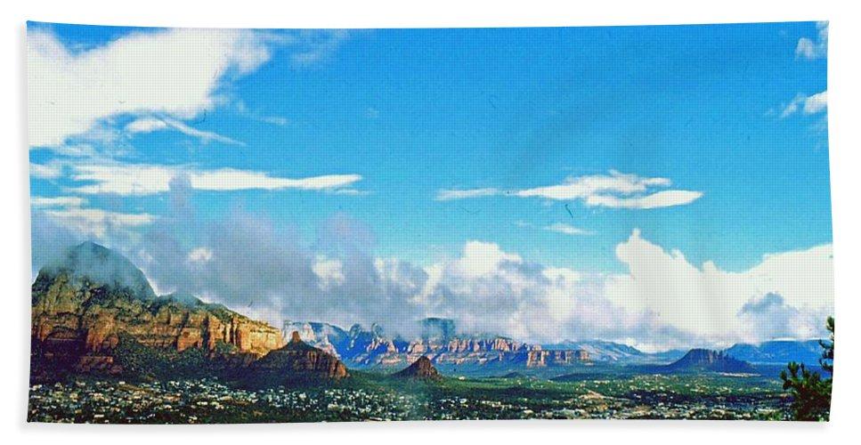 Arizona Hand Towel featuring the photograph West Sedona by Gary Wonning