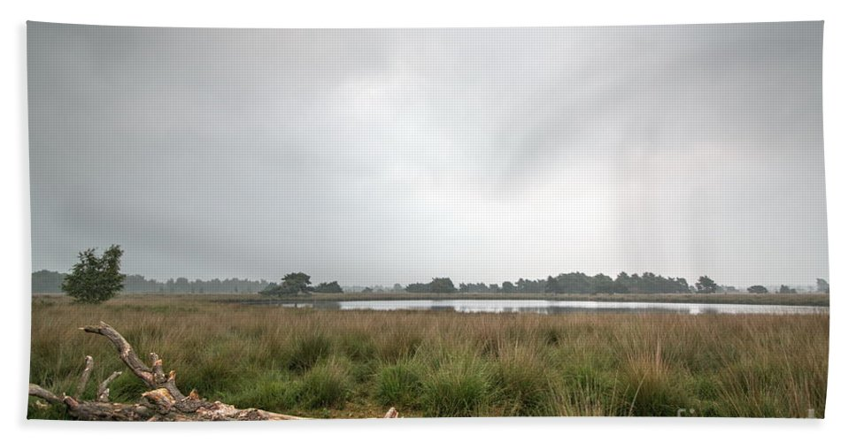 Wetland Bath Sheet featuring the photograph Wetland 1 by Brothers Beerens
