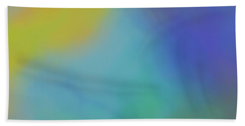 Colorful Clouds Bath Sheet featuring the digital art When 2 Souls Collide by Christy Leigh