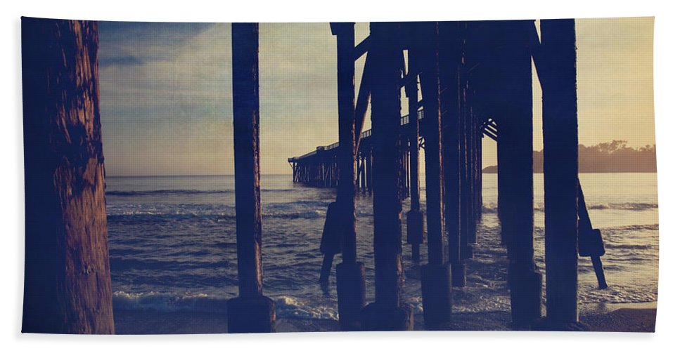 San Simeon Hand Towel featuring the photograph When Anything Seems Possible by Laurie Search