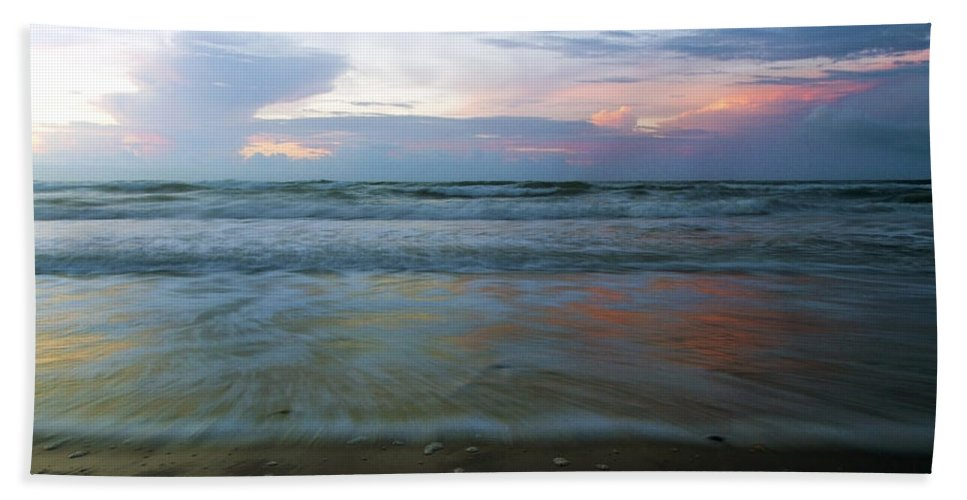Topsail Bath Sheet featuring the photograph When Time Stood Still by Betsy Knapp