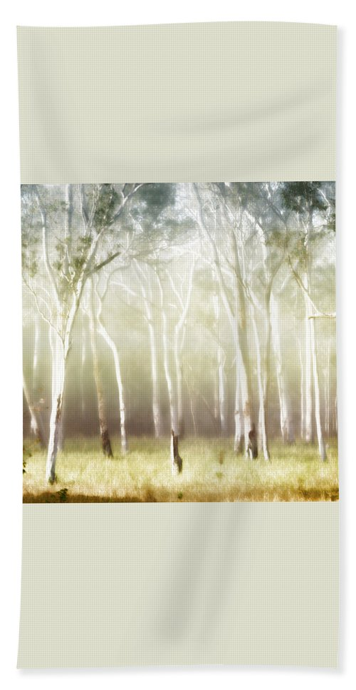 Landscapes Bath Sheet featuring the photograph Whisper The Trees by Holly Kempe