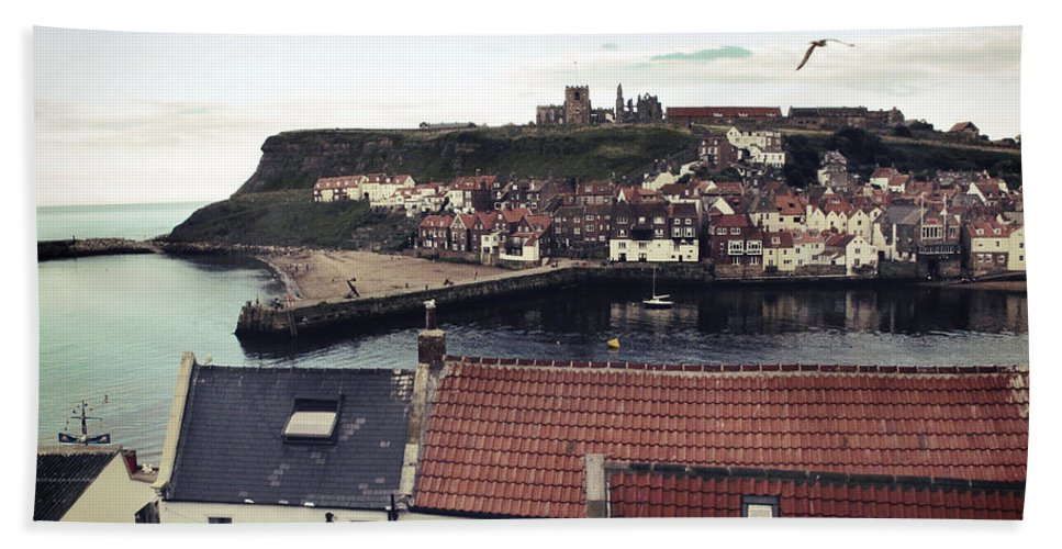 Uk Hand Towel featuring the photograph Whitby by Christopher Rees