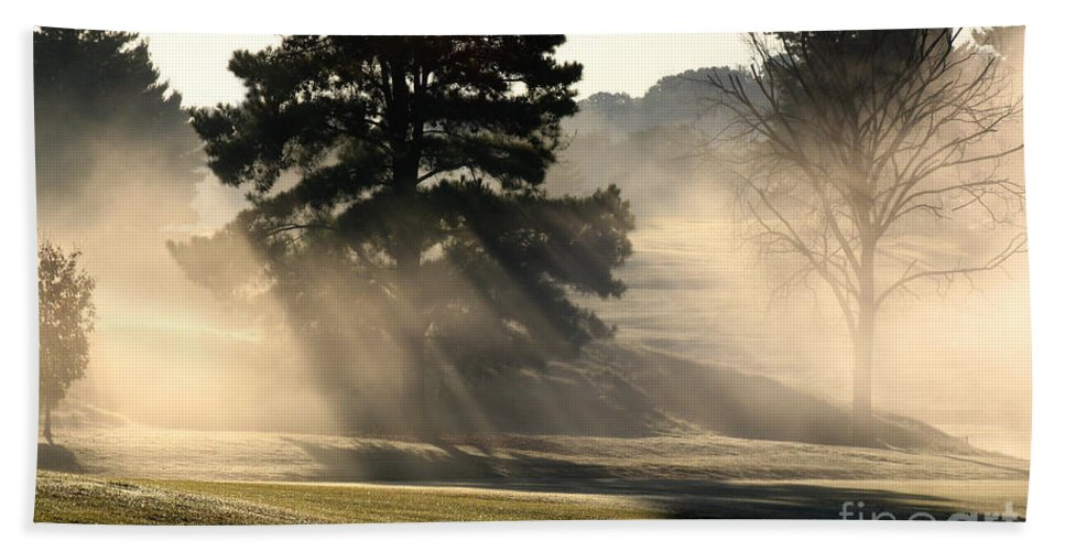 Bath Sheet featuring the photograph Whittle Springs Golf Course by Douglas Stucky