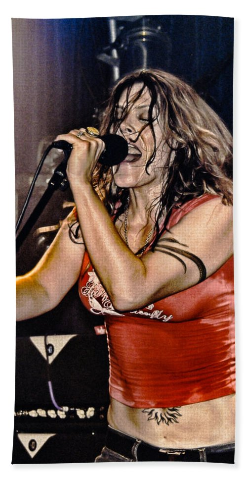 Beth Hart Bath Towel featuring the photograph Whole Lotta Power by Joachim G Pinkawa