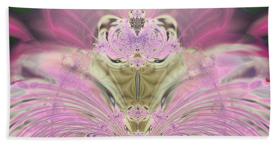 2-dimensional Hand Towel featuring the digital art Whooos The Burden by Dana Haynes