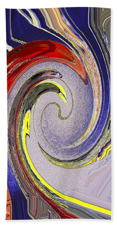 Abstract Bath Sheet featuring the photograph Wild Birds by Ian MacDonald