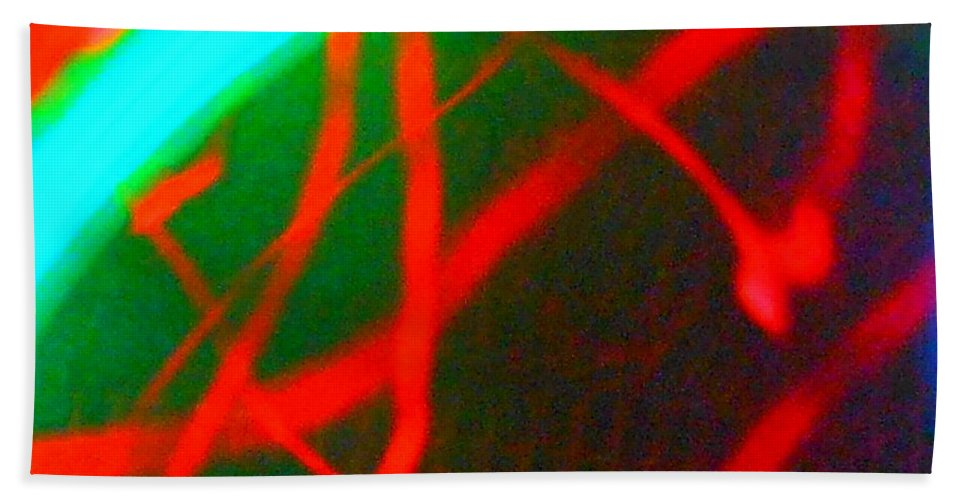 Abstract Bath Sheet featuring the photograph Wild Colour by James Welch