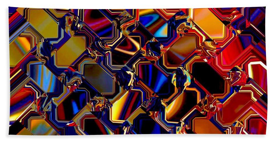 Aurora Bath Sheet featuring the digital art Wild Light Window by Phil Tailleur