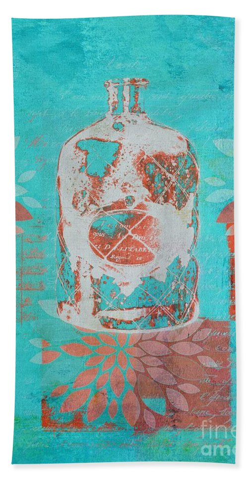 Blue Hand Towel featuring the digital art Wild Still Life - 13311a by Variance Collections