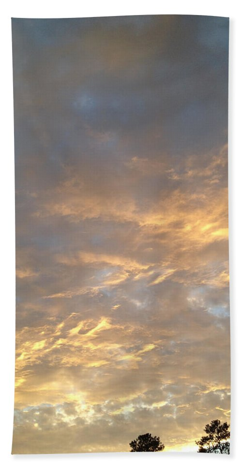 Sunset Bath Sheet featuring the photograph Wild Sunset by Nicole Parks