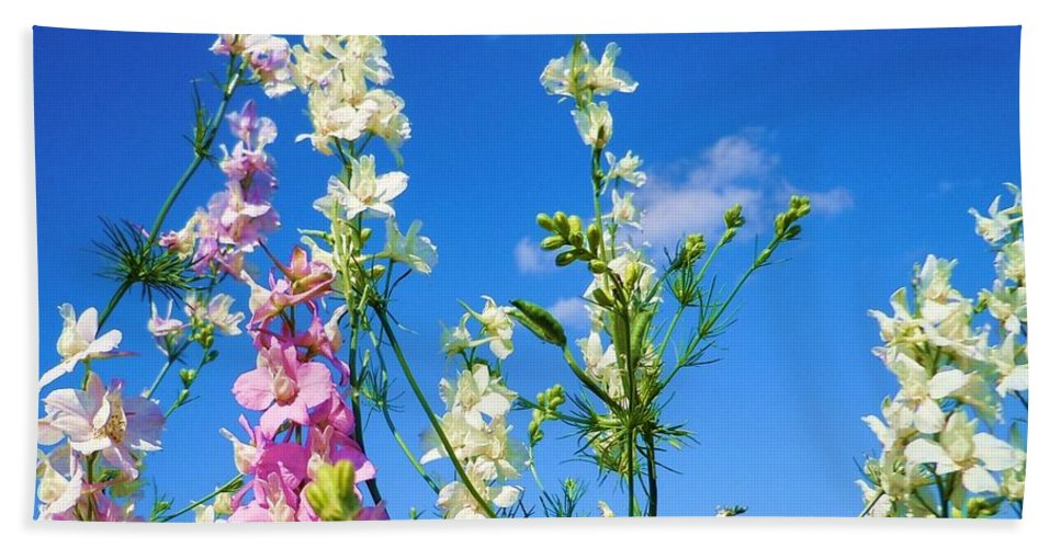 Wildflowers Bath Sheet featuring the photograph Wildflowers #13 by Robert ONeil