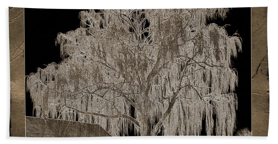 Willow Tree Hand Towel featuring the photograph Willow Ranch by John Stephens