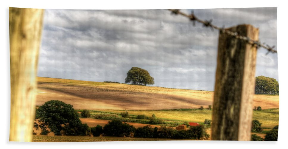 Wiltshire Hand Towel featuring the photograph Wiltshire by Traci Law