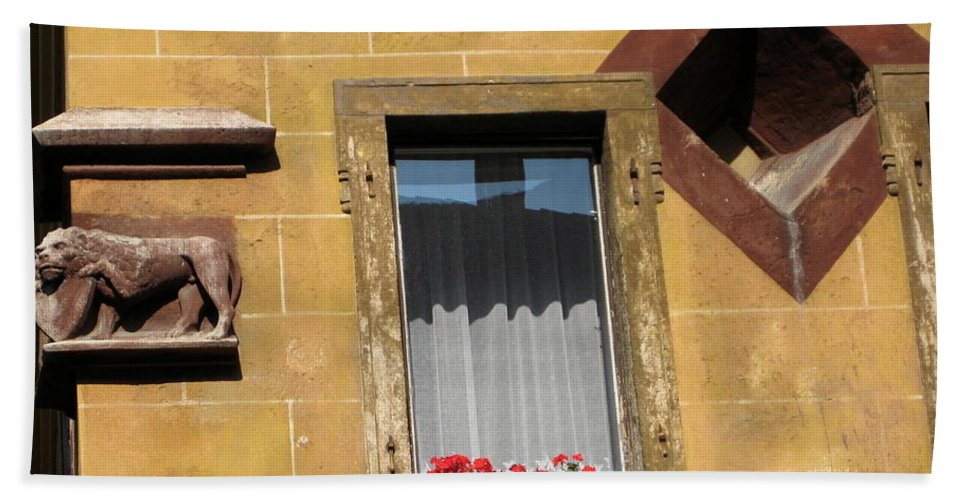 Windows Hand Towel featuring the photograph Windows To Budapest by Judith Morris