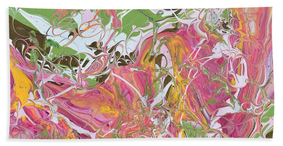 Modern Hand Towel featuring the painting Winds Of Change by Donna Blackhall