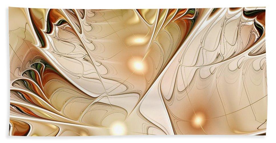 Malakhova Hand Towel featuring the digital art Wings by Anastasiya Malakhova