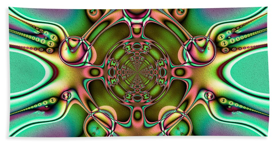 Winsome Hand Towel featuring the digital art Winsome by Kiki Art