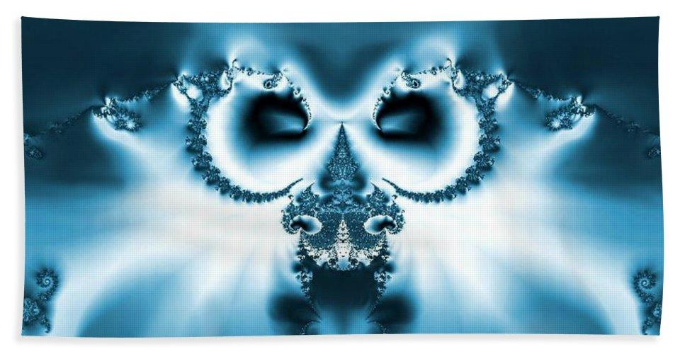 Winter Wizardry Hand Towel featuring the digital art Winter Wizardry by Maria Urso