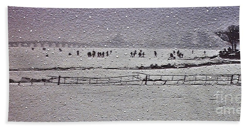 Snow Bath Sheet featuring the photograph Winter Wonderland In Beijing by Lydia Holly