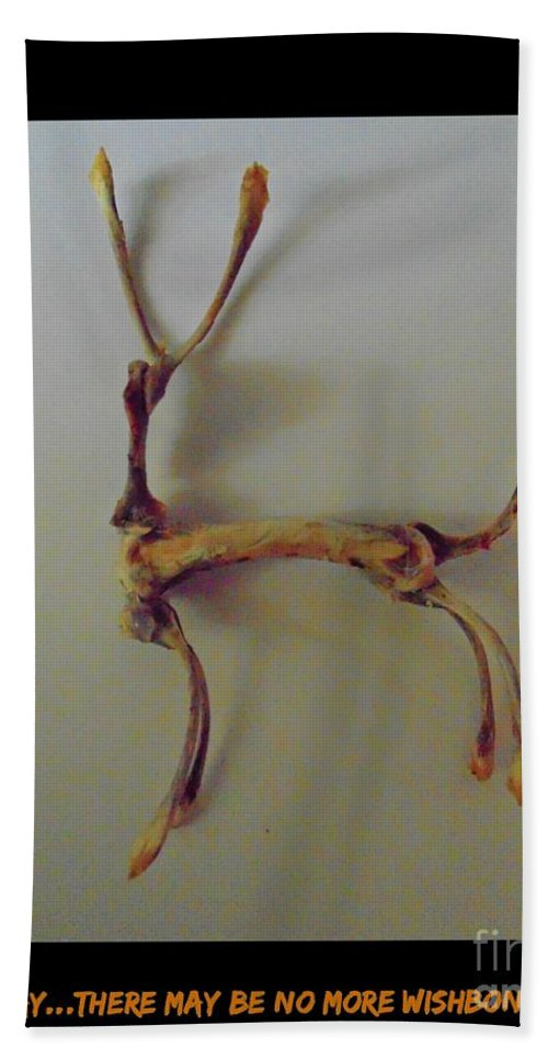 Wishbones Hand Towel featuring the photograph Wishbones by John Malone