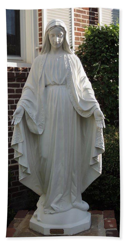 Nun Hand Towel featuring the photograph Woman Of Faith by Aaron Martens