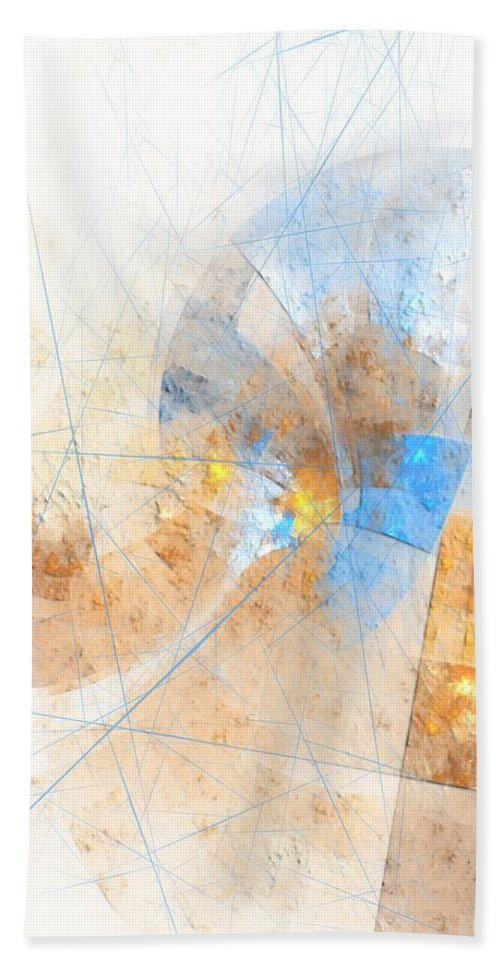 Woman Hand Towel featuring the digital art Women - Marucii by Marek Lutek